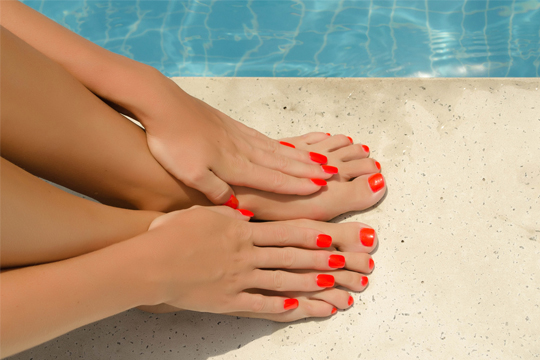 Nails treatments at The Beauty Rooms