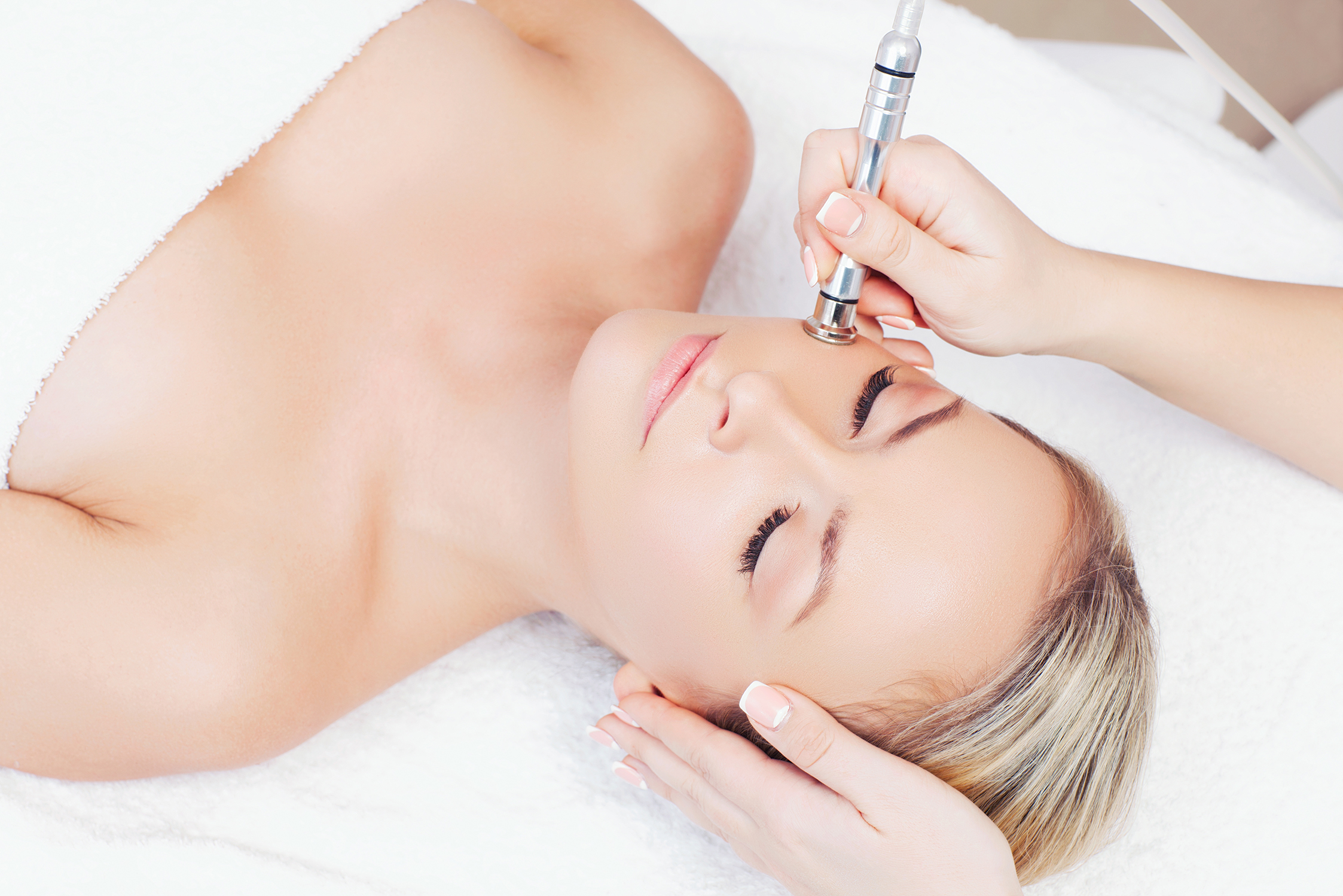 Microdermabrasion treatments at The Beauty Rooms