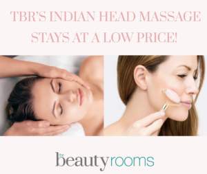 Indian Head Massage at The Beauty Rooms Chelmsford