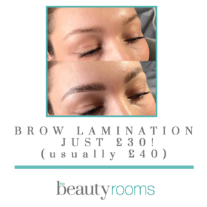 Brow Lamination at The Beauty Rooms Chelmsford