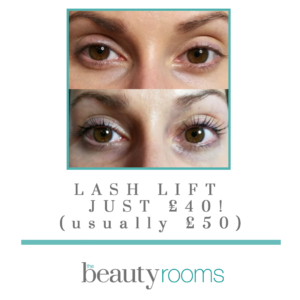 Lash Lift at The Beauty Rooms Chelmsford